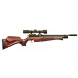 Air Arms S400 Classic Superlite PCP Air Rifle - Traditional Brown